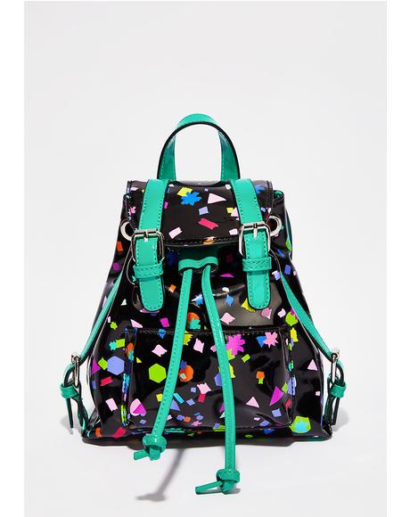 Untamed Confetti Mini Backpack