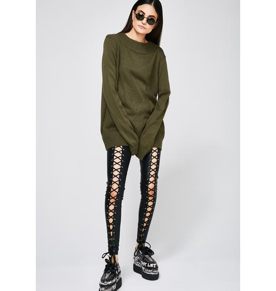 Undercover Freak Strap Sweater