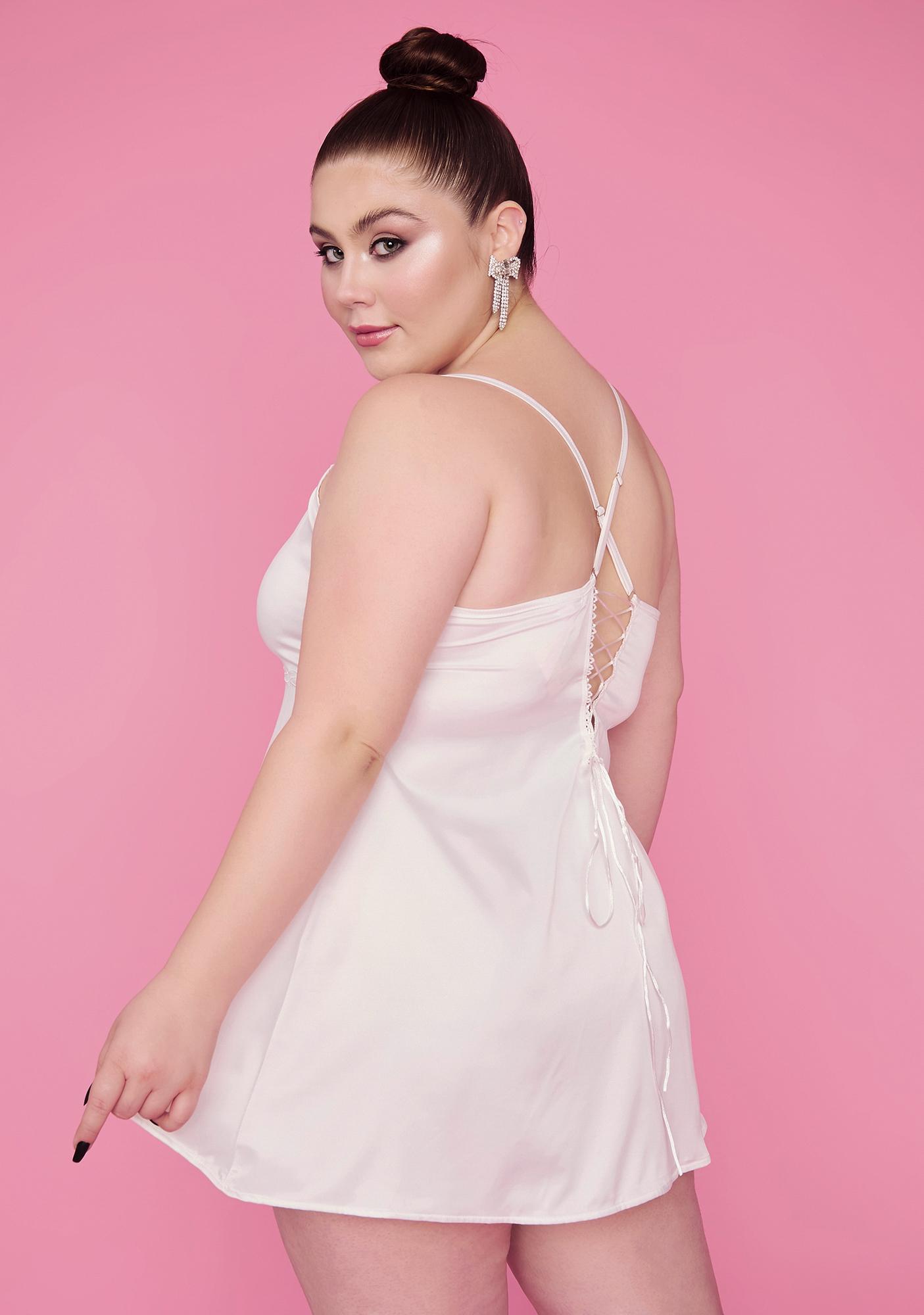 Sugar Thrillz Her Flawless Footwork Chiffon Cami Dress