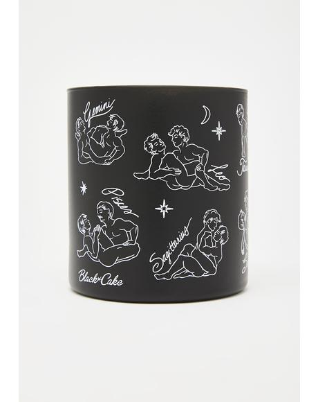 Cosmic Queer Zodiac Massage Candle