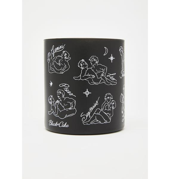 Black Cake Cosmic Queer Zodiac Massage Candle