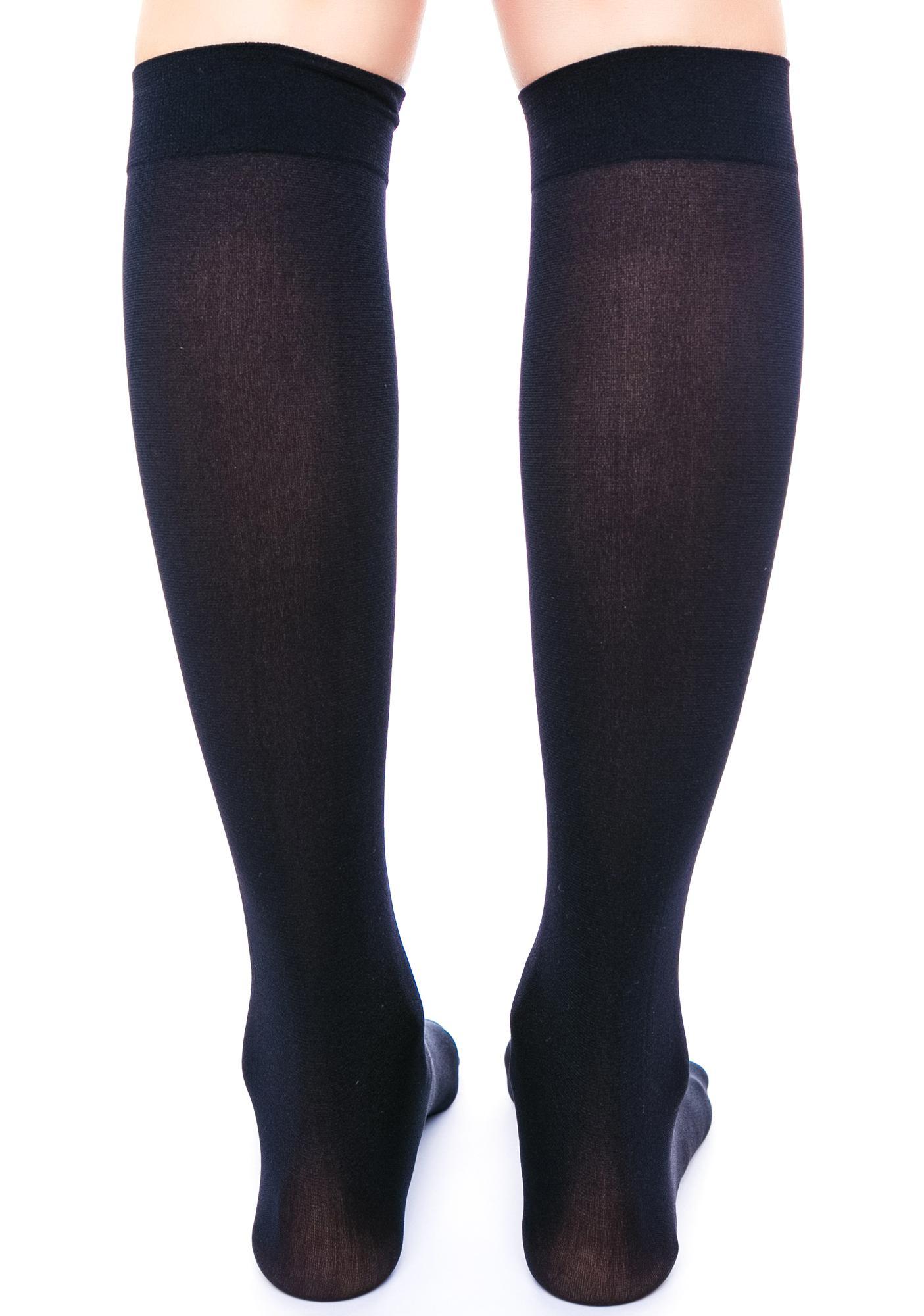 6 Girls Knee High Girls School Socks With Satin Bow all Size