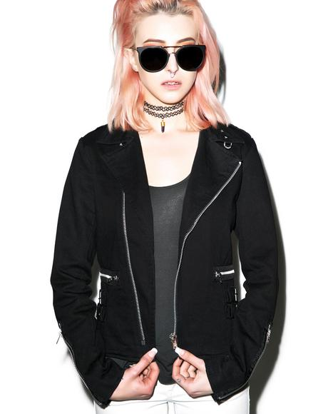 D-Ring Moto Jacket