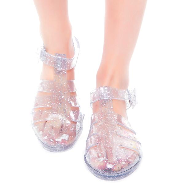 Juju Shoes Tinkerbelle Jelly Sandal
