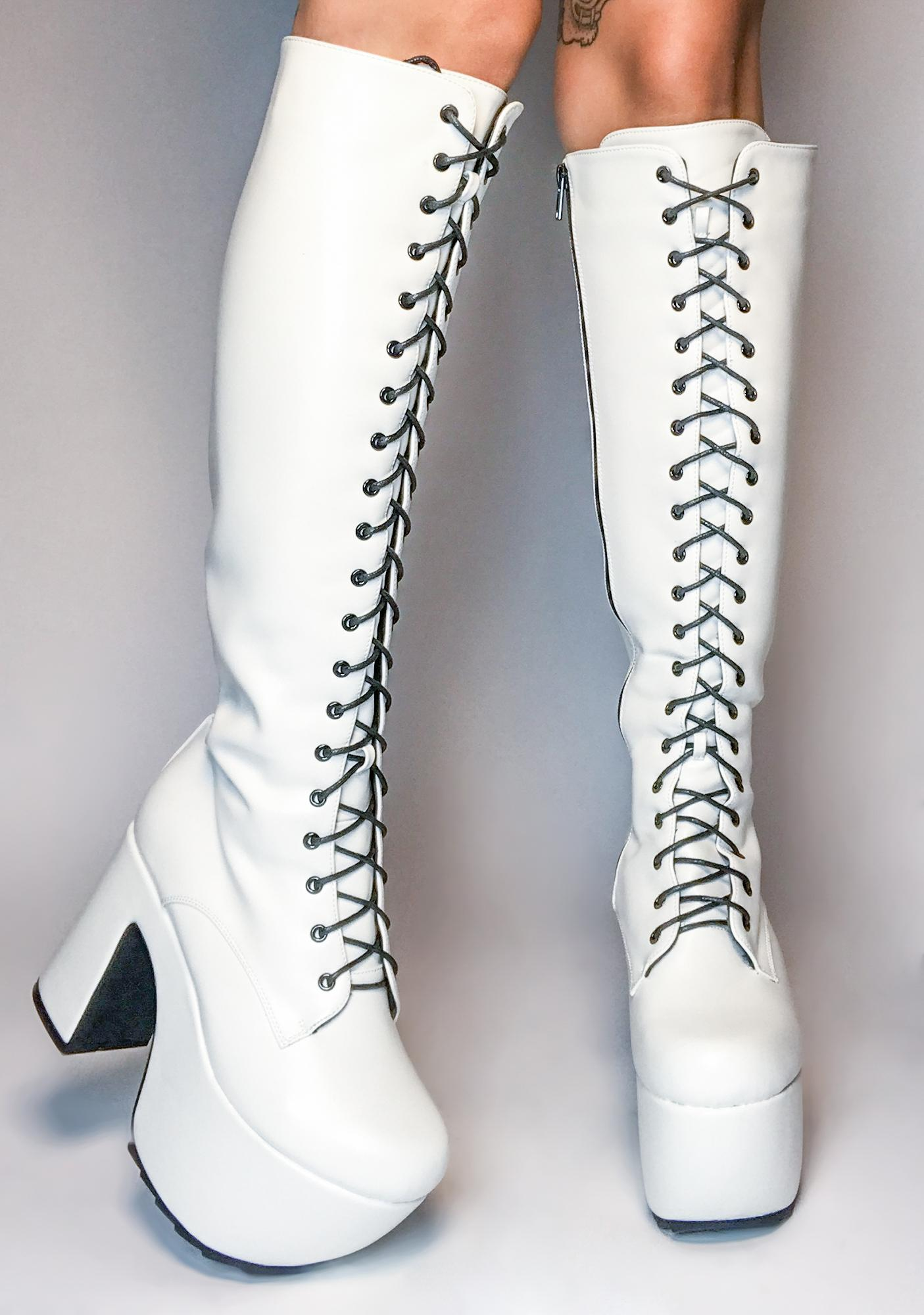 Lamoda Angel What A Dream Knee High Boots