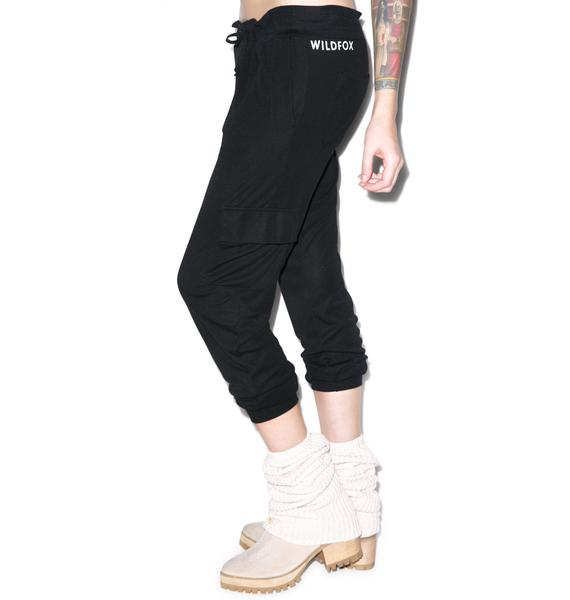 Wildfox Couture Classic Fox Cargo Pants