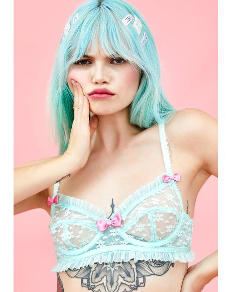 Forget Me Nawt Lace Bra