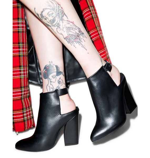 Intentionally Blank Bally Booties