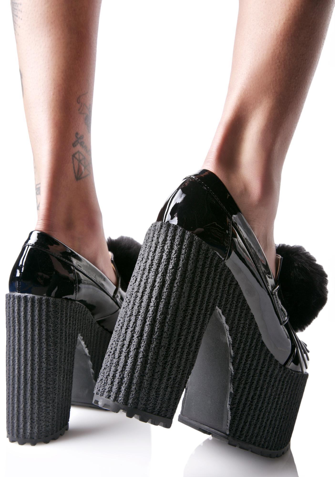 Sugar Thrillz Proper Puff Loafers