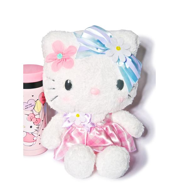Sanrio Flower Hello Kitty Plushie