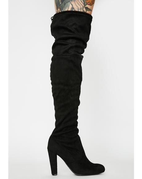 Night Stalker Knee High Boots