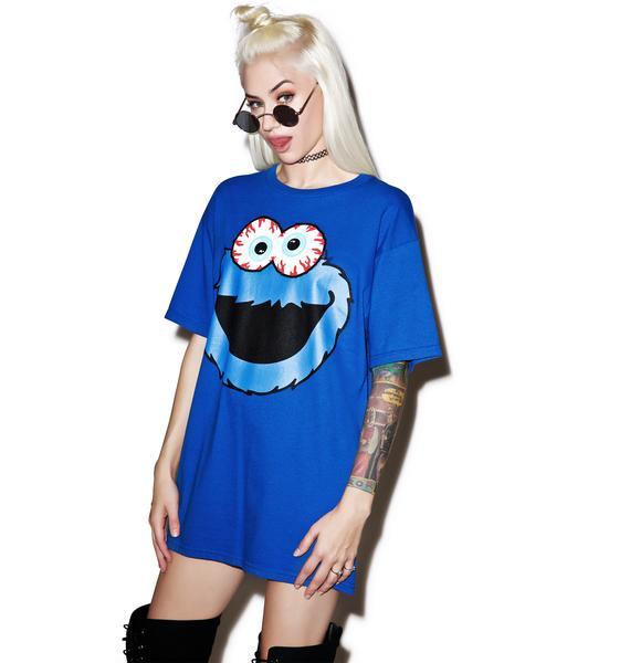 Mishka Cookie Monster Keep Watch Tee