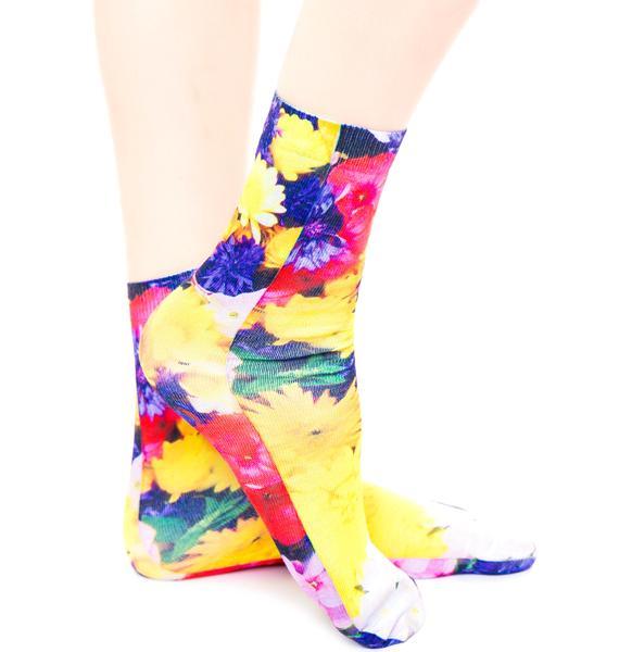 Botanical Garden Socks