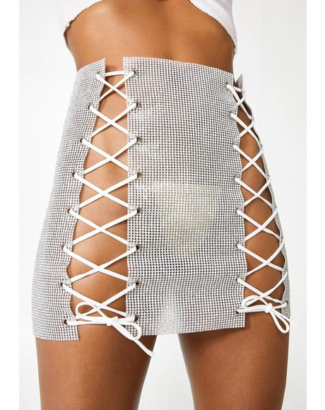 Dare To Dance Mini Skirt