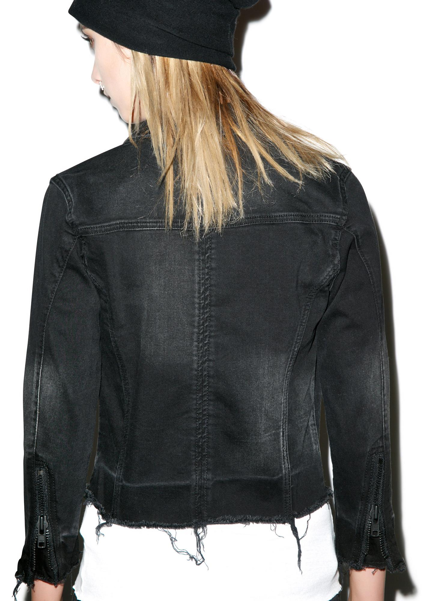 Blank NYC Little Black Box Jacket | Dolls Kill