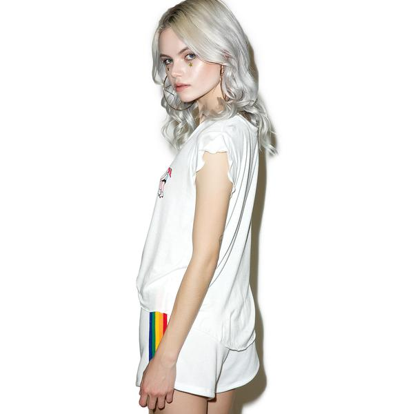 Tripping Roller Girl Tee
