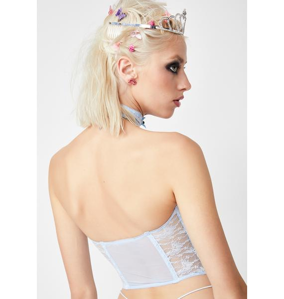 Sugar Thrillz Iconic Goddess Bustier N' Choker Set