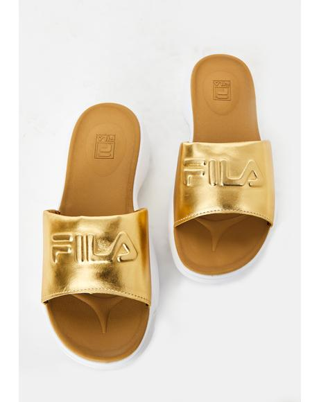Gold Distuptor Metallic Slides