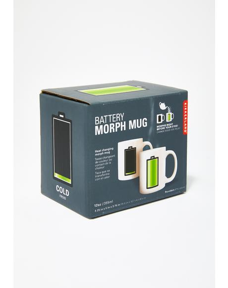 Battery Morph Coffee Mug