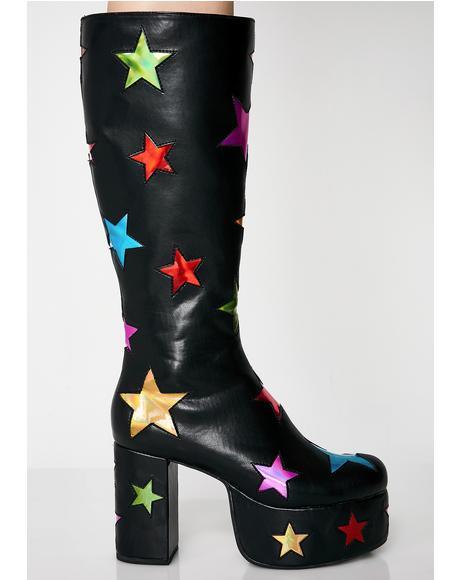 Starscape Platform Boots