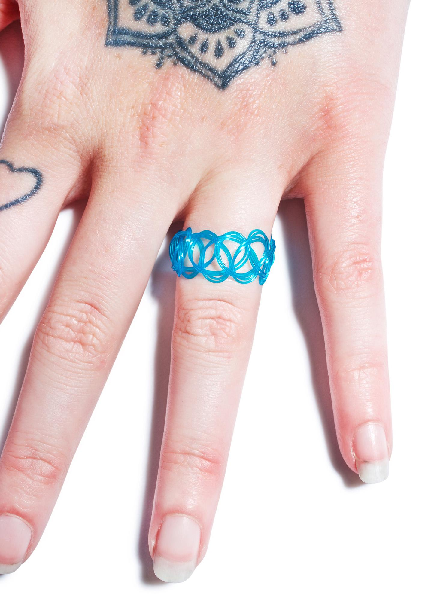 Vending Machine Tattoo Ring | Dolls Kill