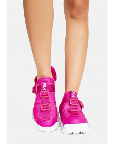 Pink Glo Unit Sneakers