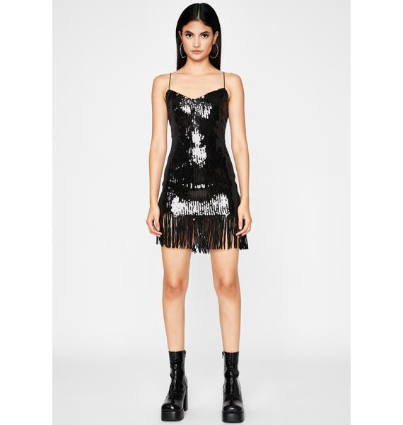 Night Make Ya Shimmy Sequin Dress