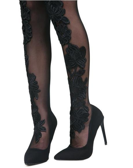 Sensual Seduction Thigh High Heels
