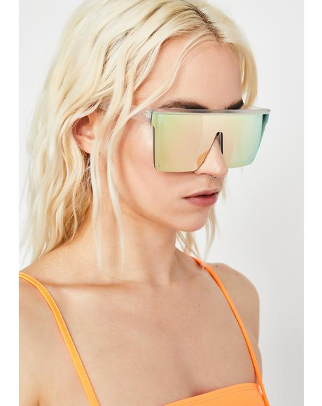 Trinity Emblem Shield Sunglasses