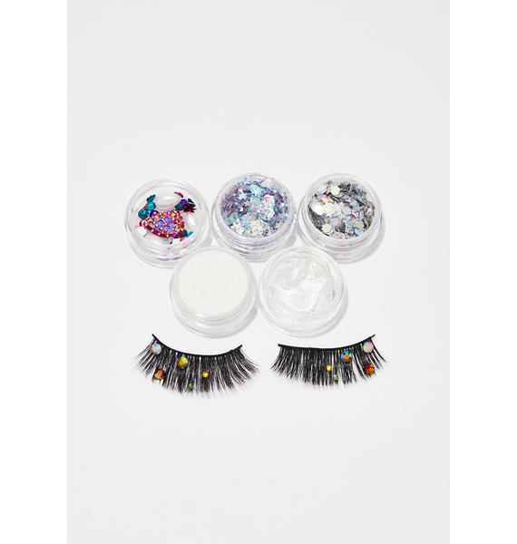 FromNicLove Gemstone Eyelash And Glitter Pack