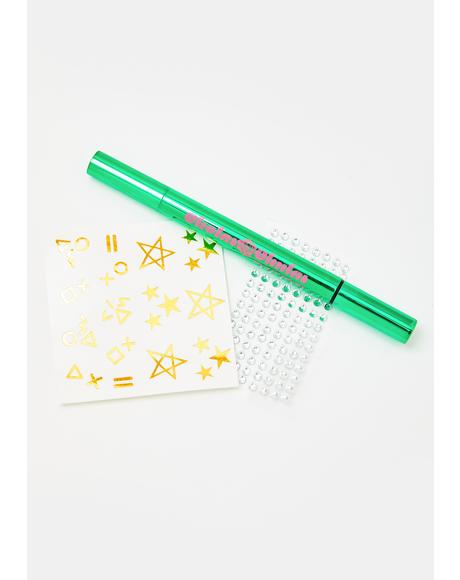 Cosmic Lover Stamp Liner N Face Sticker Set