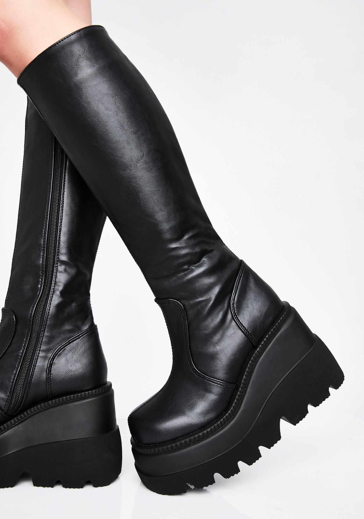 Demonia Go-Go Shaker Boots
