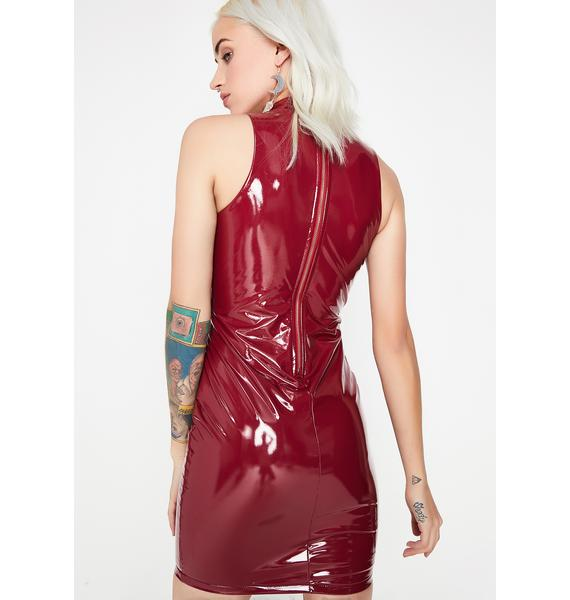 Ruby Never Submissive Vinyl Dress