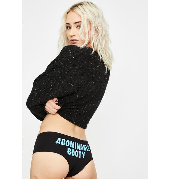 Cartel Ink Abominable Booty Booty Shorts