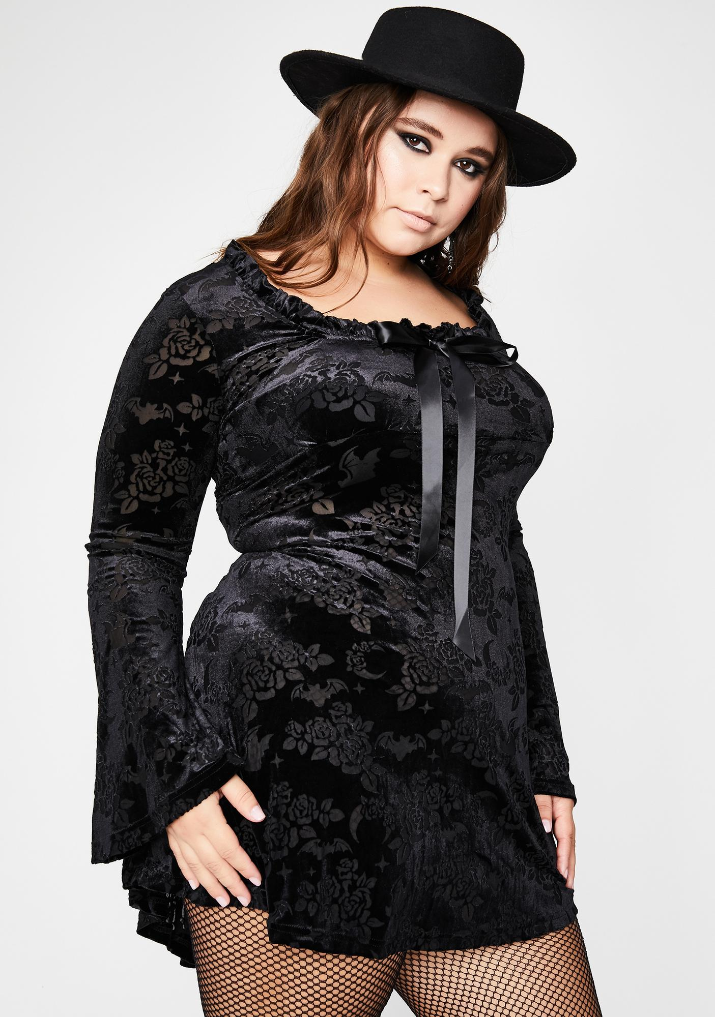 Killstar Plus Under Your Spell Maiden Dress