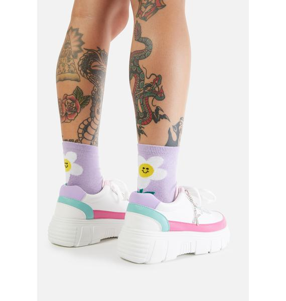 Koi Footwear Cookie Platform Sneakers