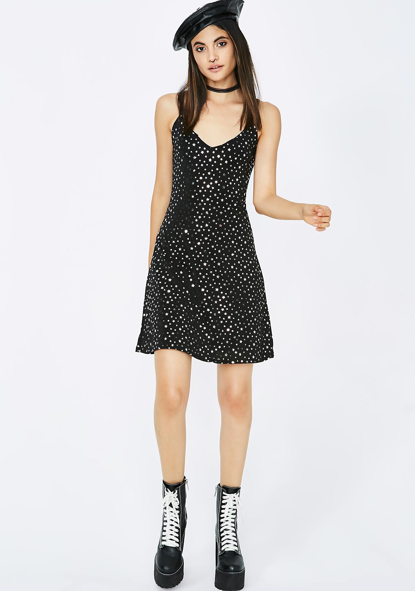 Seein' Stars Mini Dress