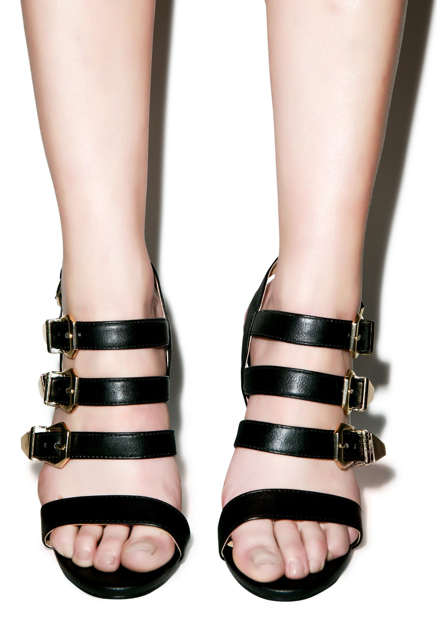 Olive Martini Heels