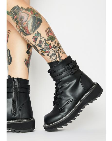 Failed Senses Combat Boots