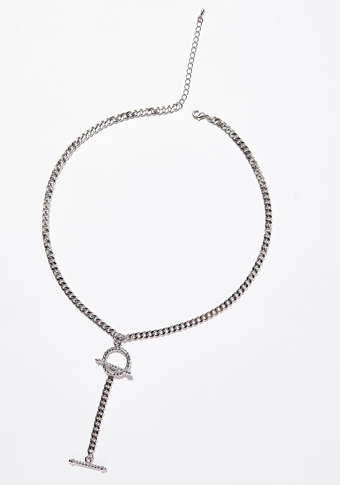 Low Key Toggle Necklace