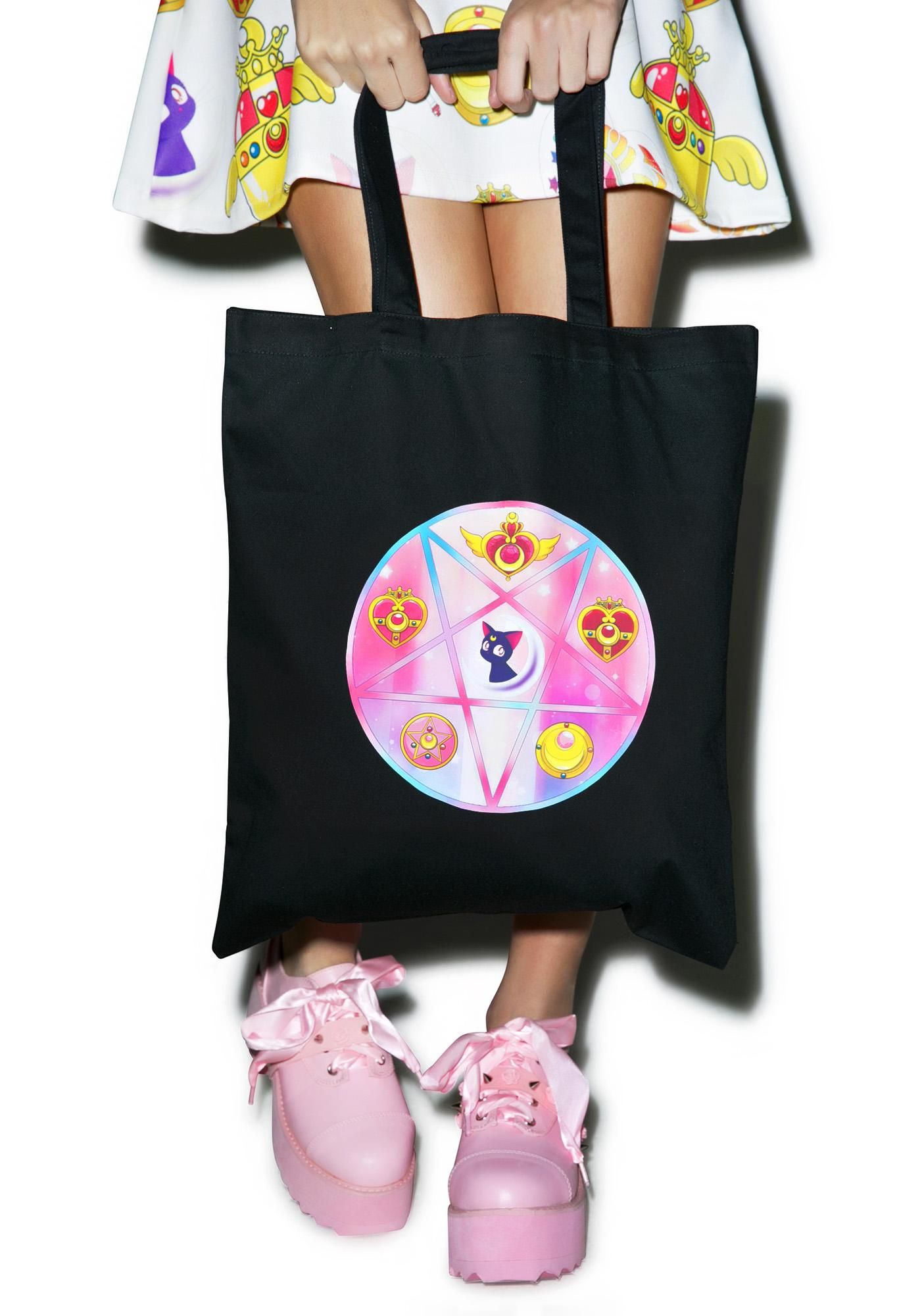 Pentagram Sailor Tote Bag