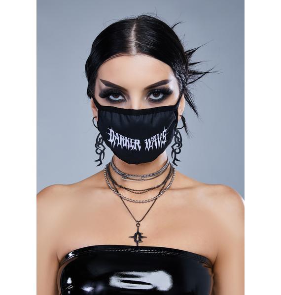 Kickdrum Logo Face Mask