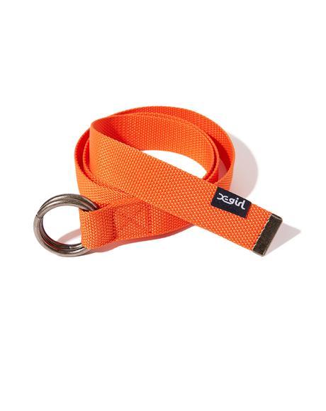 Orange Ring Belt