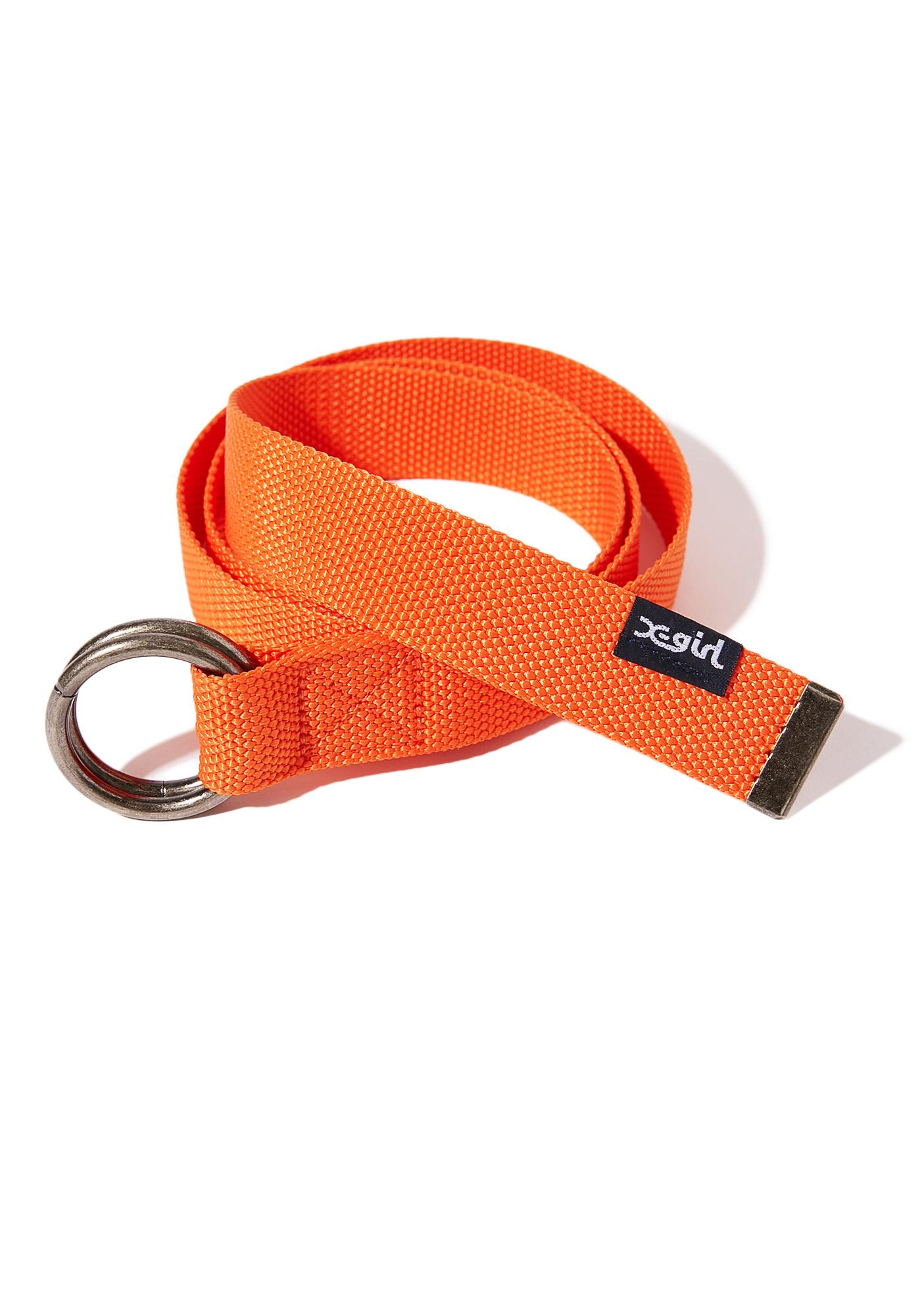 x-Girl Orange Ring Belt