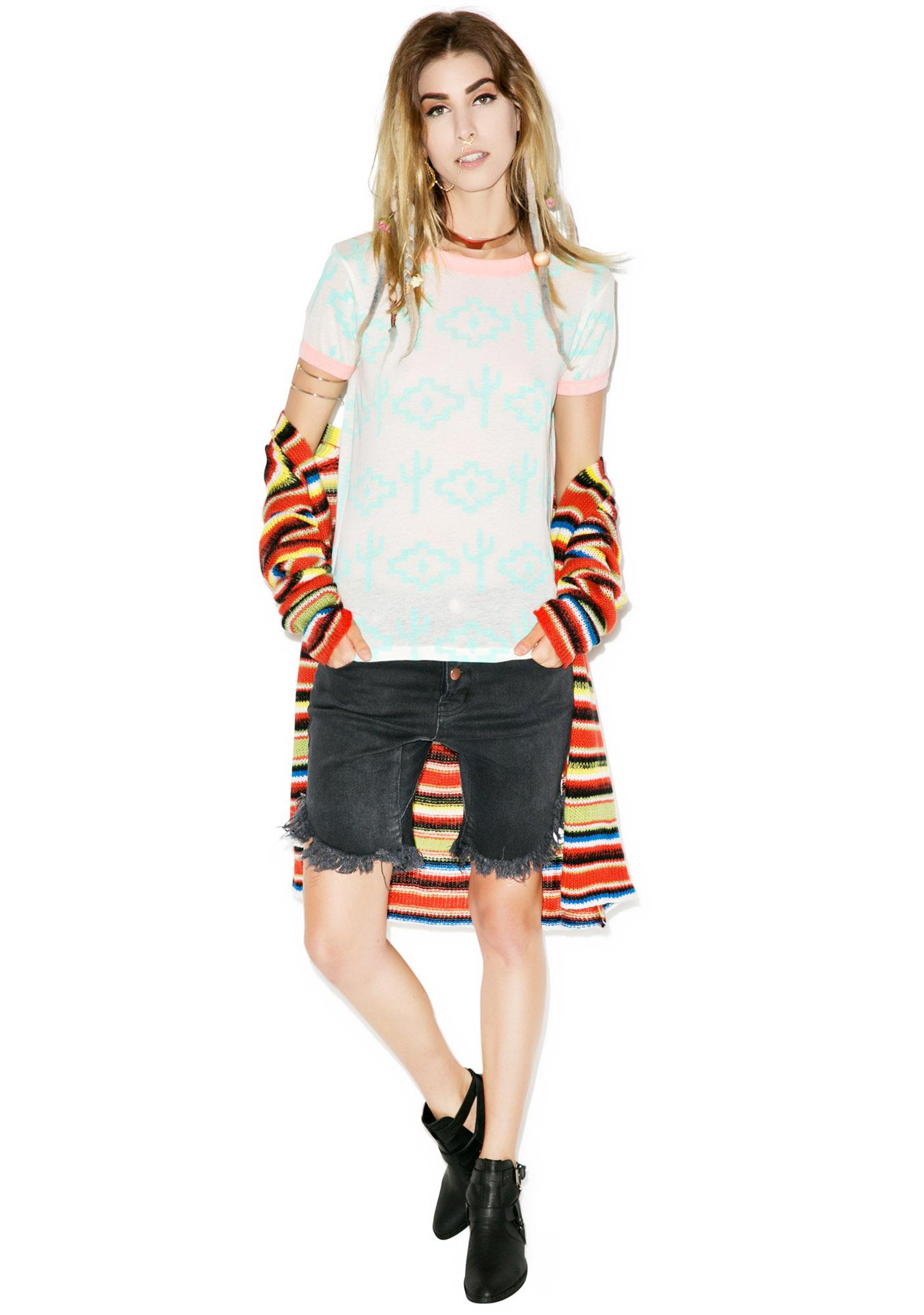 Wildfox Couture Grand Canyon Vintage Ringer Tee
