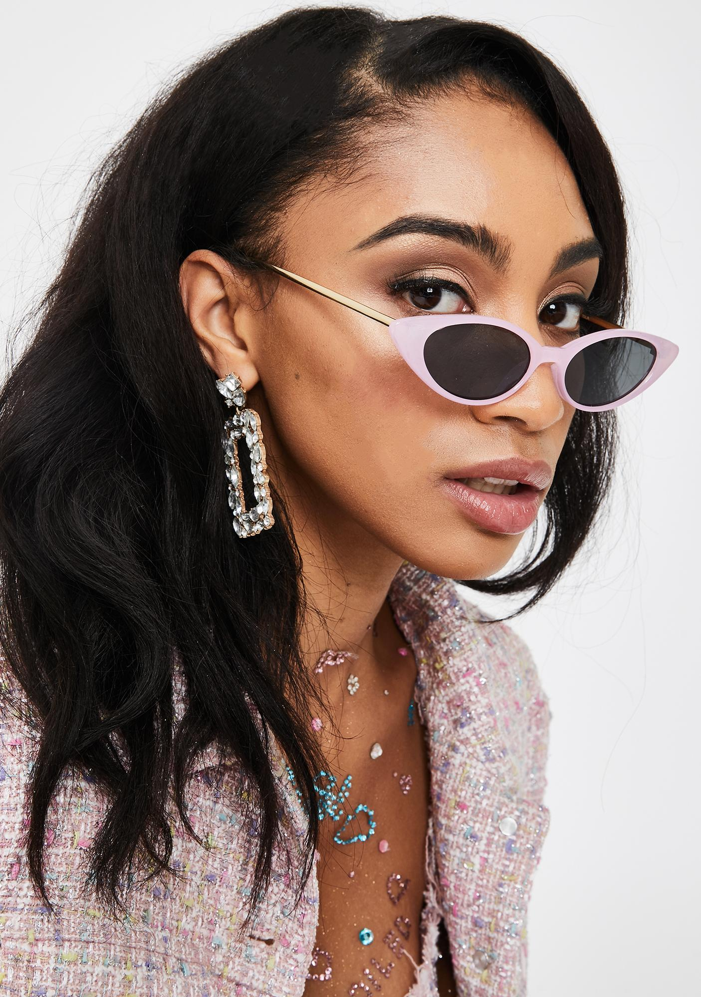 I-SEA Lilac Isla Cat-Eye Sunglasses