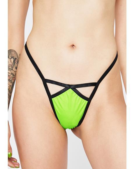 Virgo Charm Thong Panties