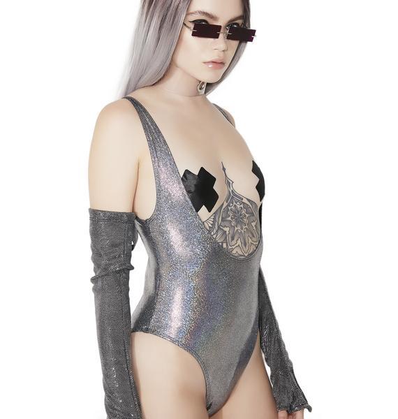 Sugarpuss Super Moon Scoop Bodysuit