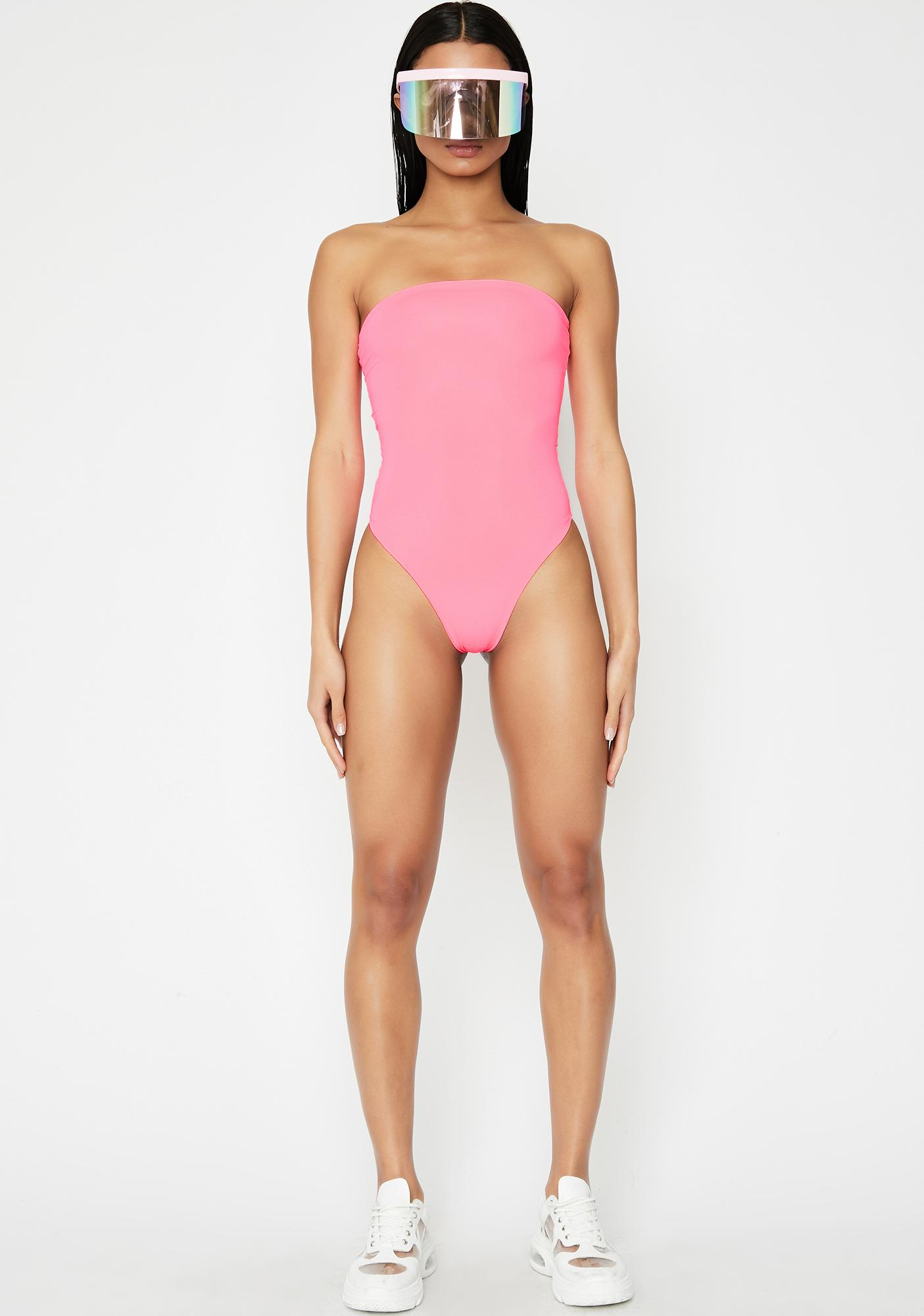 Slay Club Strapless Swimsuit