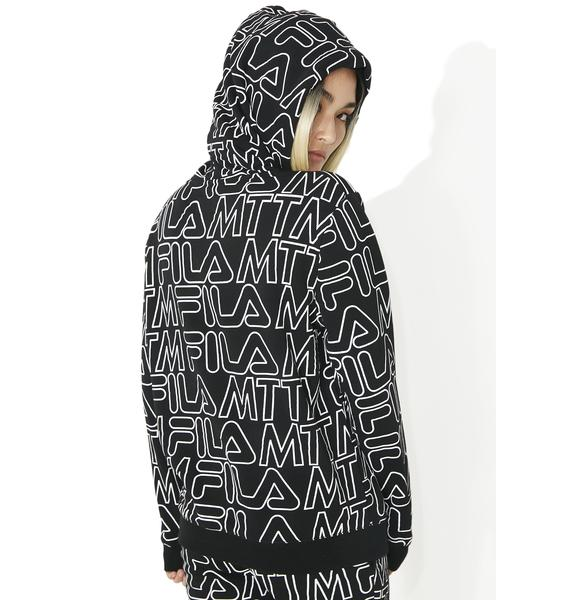 Married to the Mob Lounger Zip Hoodie